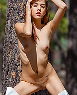 Sample Thumb - Kristina Bell in Boots in the Forest