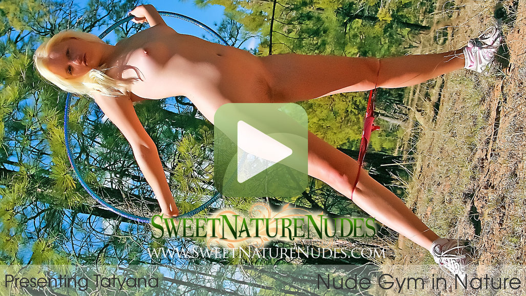 Nude Gym in Nature